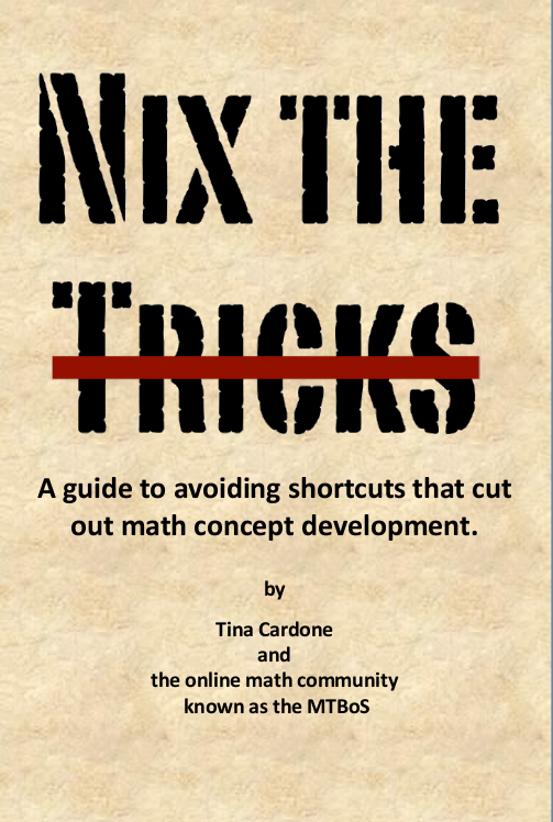 Nix the Tricks by Math Twitter Blogosphere